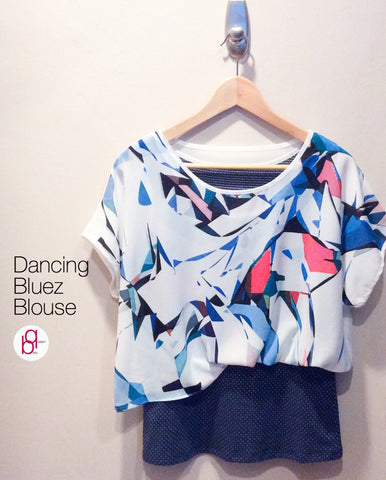 Dancing Bluez Blouse