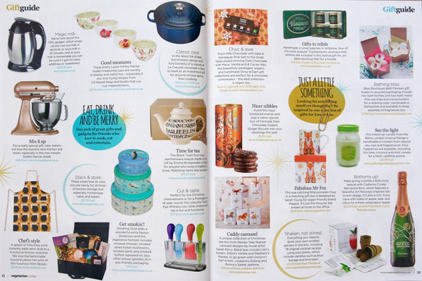inclding being featured in their christmas gift guide....