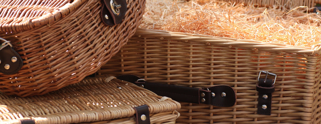 Image of Collection of Wicker Hampers - The Artisan Smokehouse