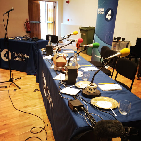 Staging for BBC Radio 4 The Kitchen Cabinet - The Artisan Smokehouse