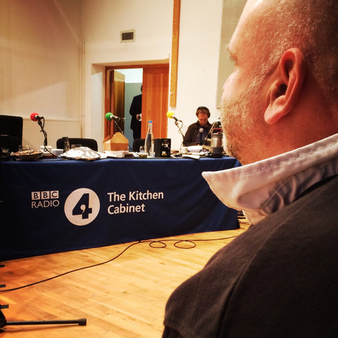Tim at BBC Radio 4 The Kitchen Cabinet - The Artisan Smokehouse