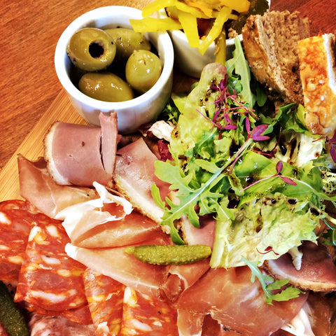 A photo of our Smoked meat platter - The Artisan Smokehouse