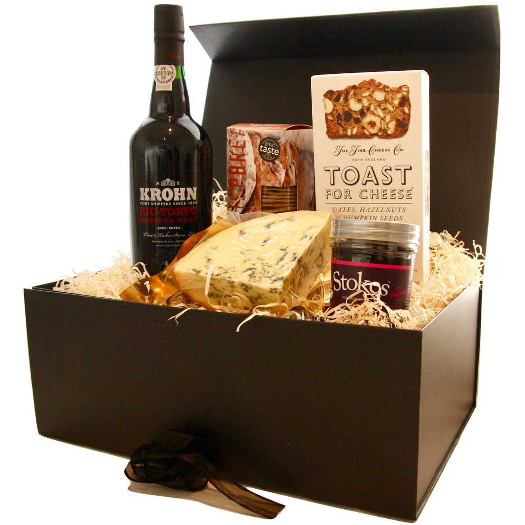 Image of The Port & Smoked Stilton Hamper