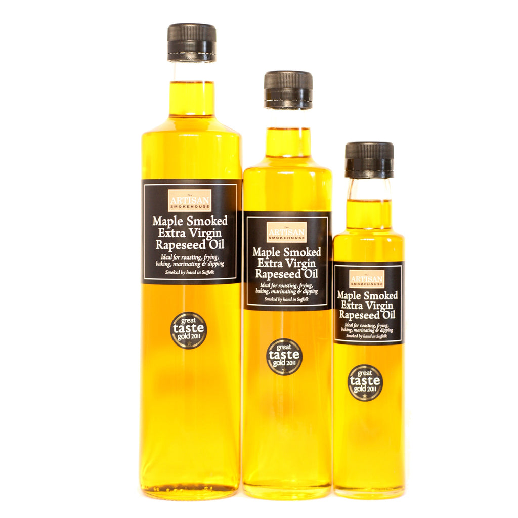 Image of Smoked Extra Virgin Rapeseed Oil - The Artisan Smokehouse