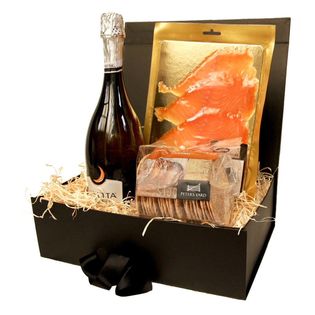 Image of Smoked Salmon & Prosecco Hamper