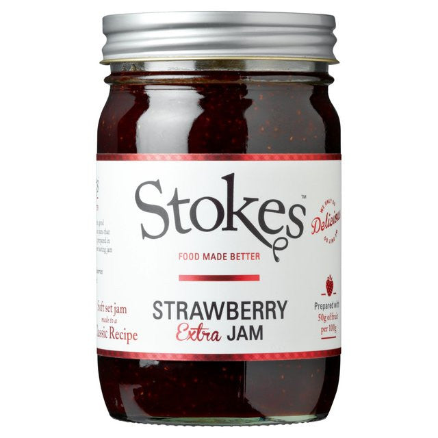Image of Stokes Strawberry Jam - Artisan Smokehouse