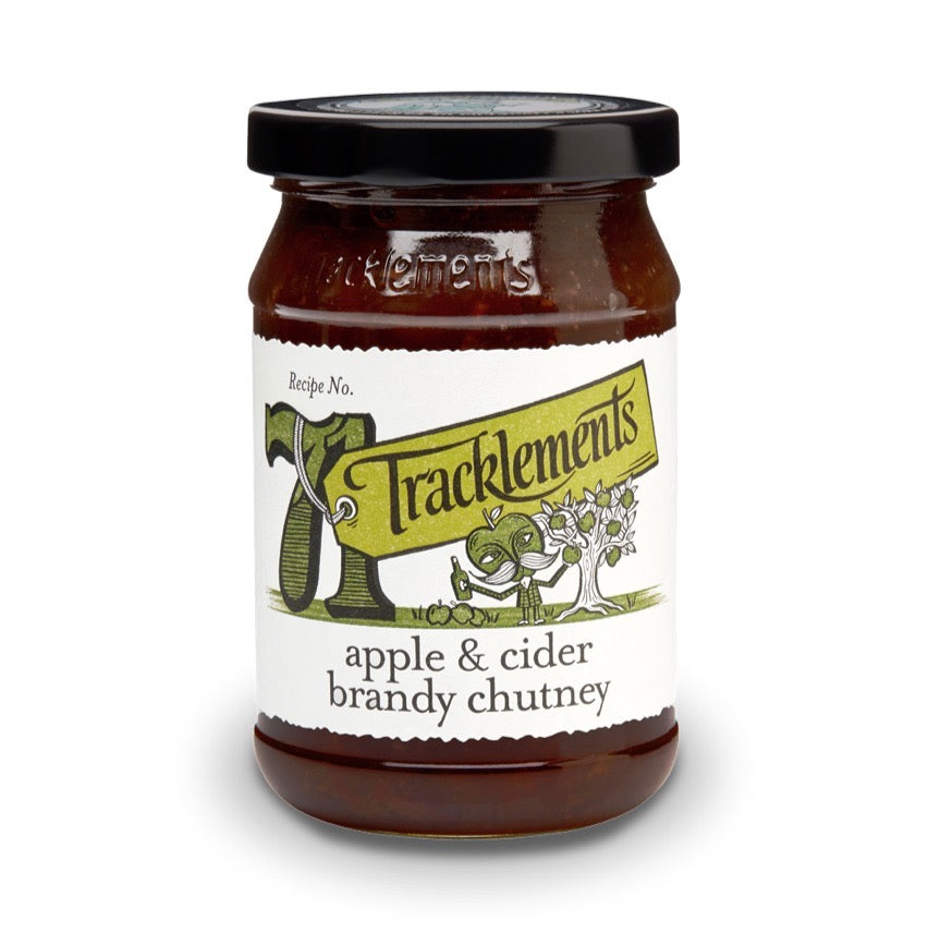 Image of Tracklements Apple & Cider Brandy Chutney