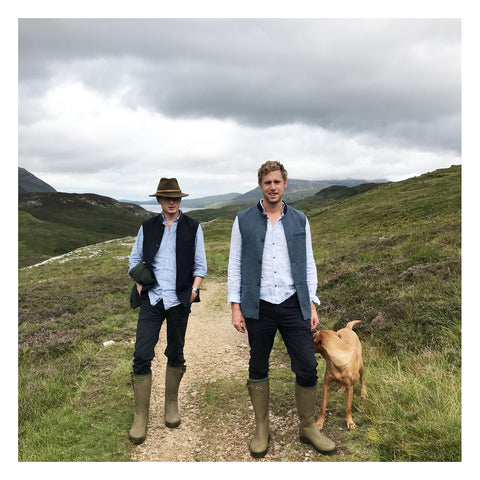British Made British Wool Made in England British Menswear England British Mill Yorkshire Mill Sheep Wool Autumn Winter AW18 Nehru Gilet Nehru Vest Nehru Waistcoat Nehru jacket