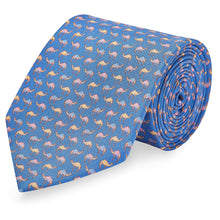 Silk Tie, Printed Silk Tie, Wedding Ties, Neckwear, Made in England.