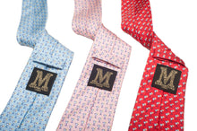 Marmaduke London silk ties. Made in England from our hand drawn prints. Luxury menswear and accessories. Luxury gifts for men. Each tie comes giftwrapped. Ideal for weddings. Wedding ties.