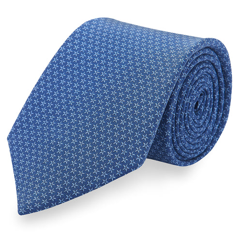 Starfish Silk Tie • Navy