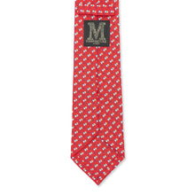 Cocktail Silk Tie • Red