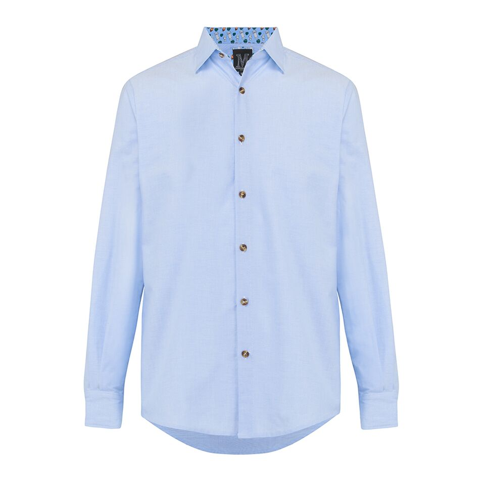 The Oxford Shirt • Light Blue