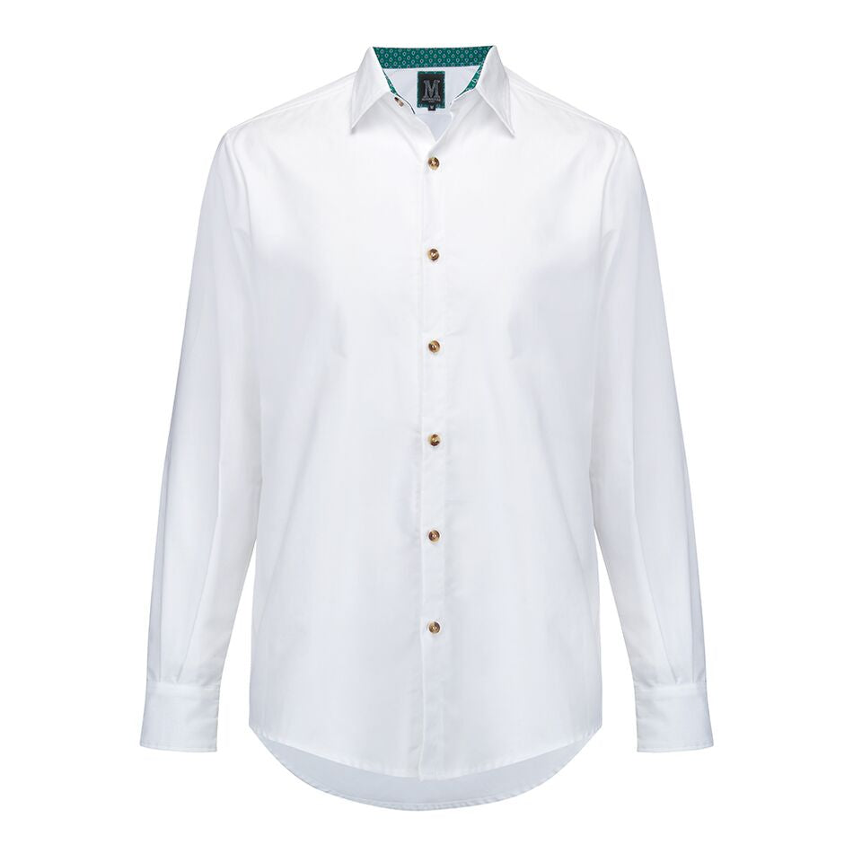 The Oxford Shirt • White