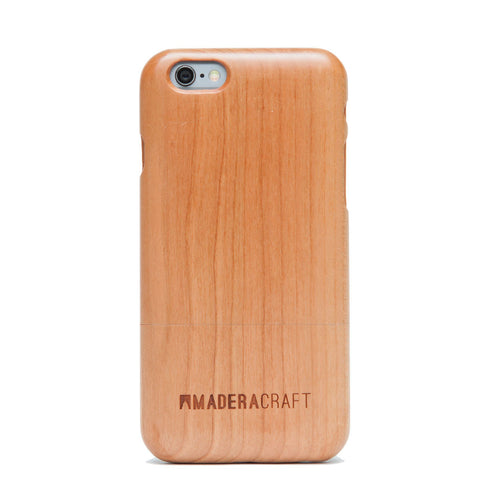 Two Piece Cherry Wood iPhone Case