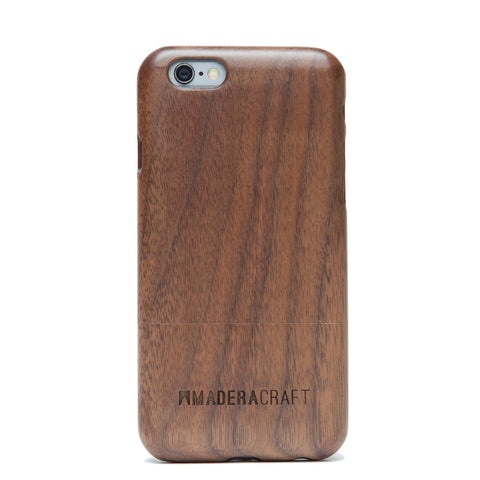 Two Piece Walnut Wood iPhone Case
