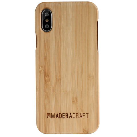 Two Piece Bamboo iPhone Case