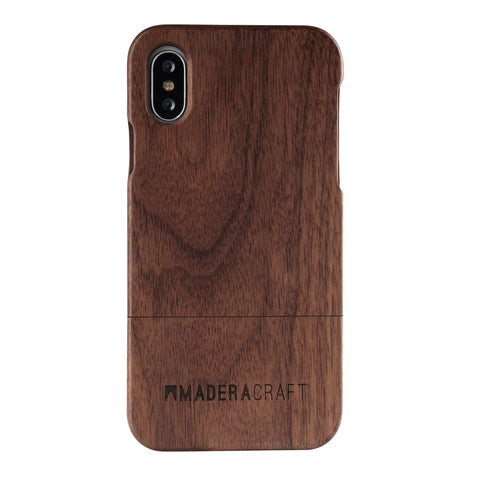 Two Piece Walnut iPhone Case