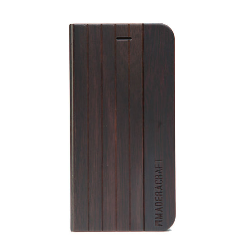 Walnut Wood iPhone Case w/ Cover