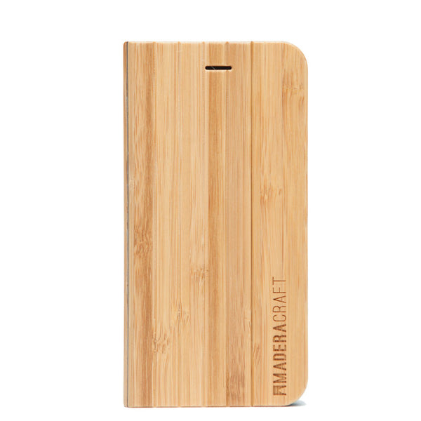 Bamboo Wood iPhone 5 Case w/ Cover