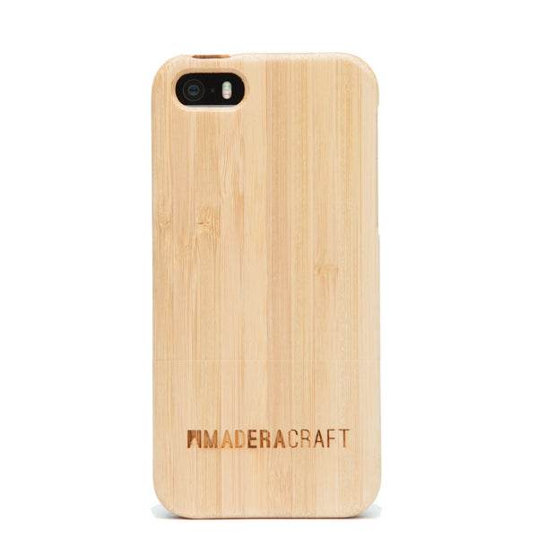 Two Piece Bamboo Wood iPhone 5/5s Case