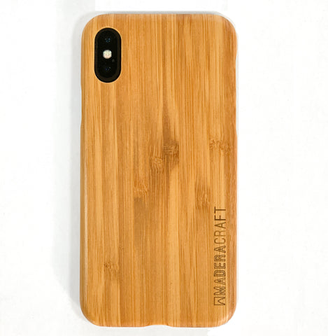 100% Bamboo / Walnut Wood Case for Android & iPhones