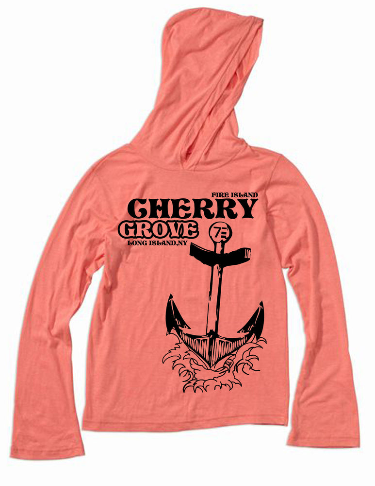 gay pride cherry grove long sleeved shirt