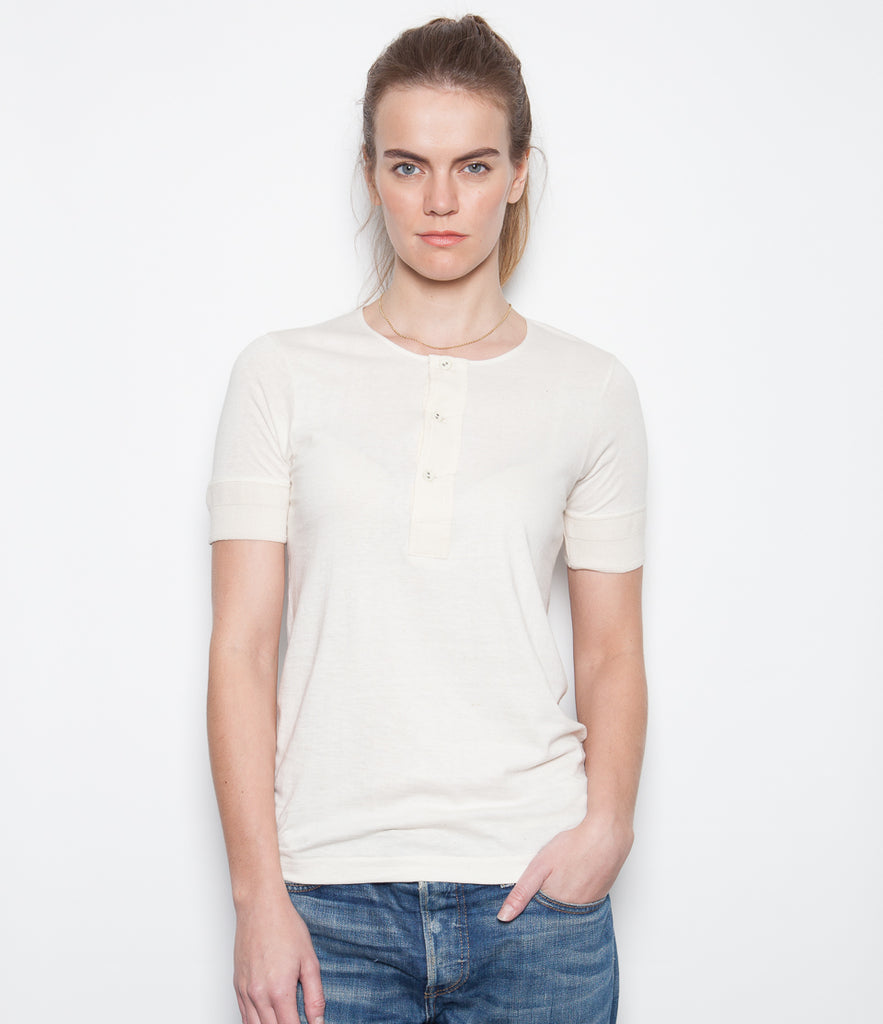 Women's <br/>1.CH henley short sleeve <br/>nature