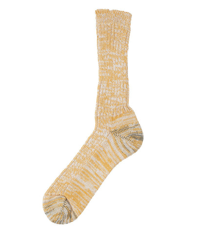 Unisex <br/>271 cotton socks <br/>yellow mel.