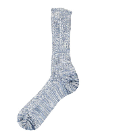 Unisex <br/>271 cotton socks <br/>blue mel.