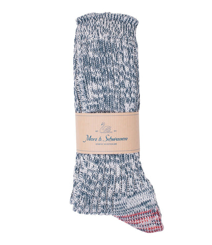 271 cotton socks<br/>navy mel.