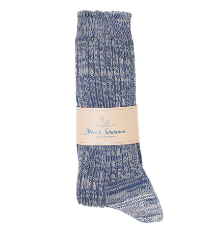 Unisex <br/>271 cotton socks <br/>navy-grey