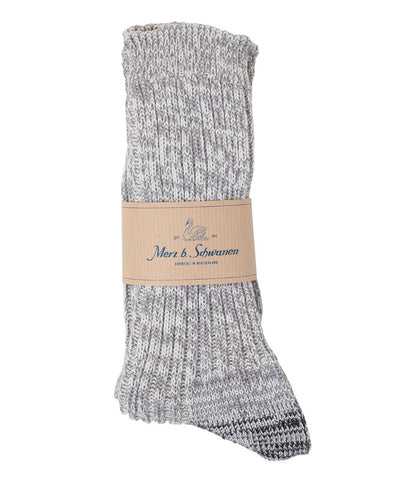 271 cotton socks<br/>grey mel.
