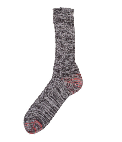Unisex <br/>271 cotton socks <br/>black-grey