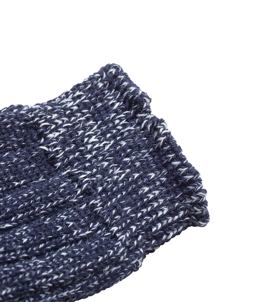 W72 merino wool socks<br/>dark navy nature