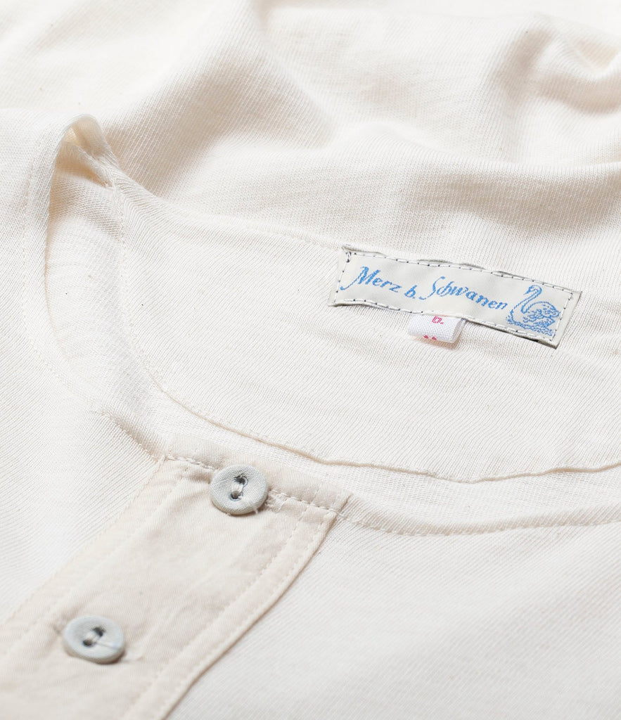 101 button border shirt 7/8 sleeve<br/>nature