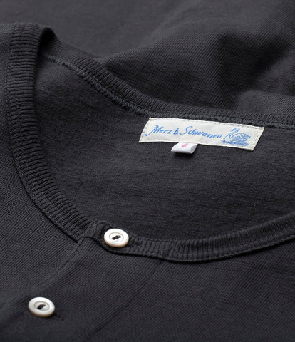 2S06 henley heavy lg. slv.<br/>charcoal