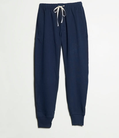 3S58 sweatpants long<br/>ink blue