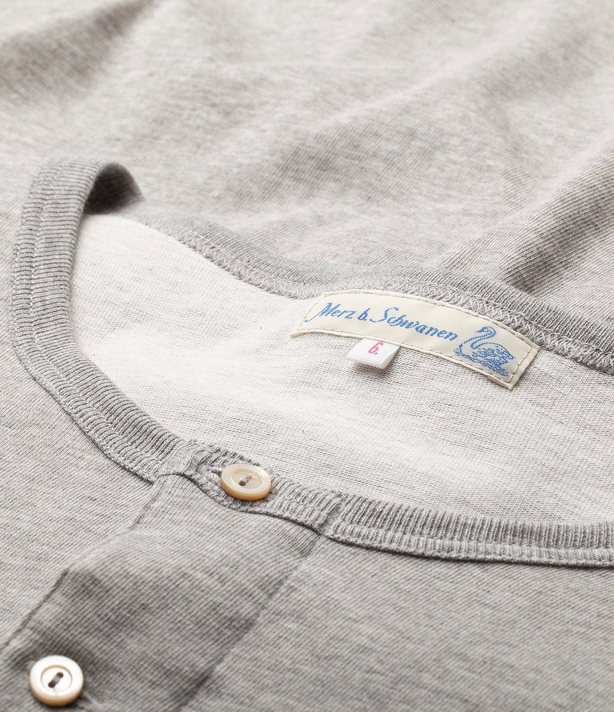 206 henley long sleeve<br/>grey mel.