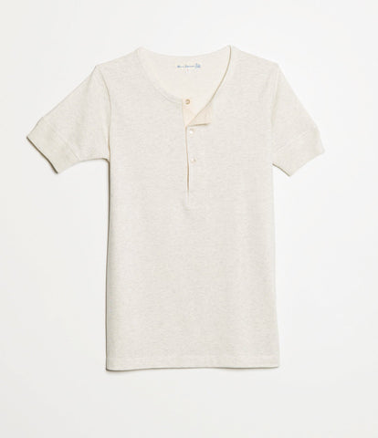 207 henley short sleeve<br/>nature mel.
