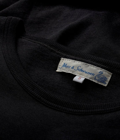 Men's <br/>1950'sLS crew neck long sleeve <br/>deep black