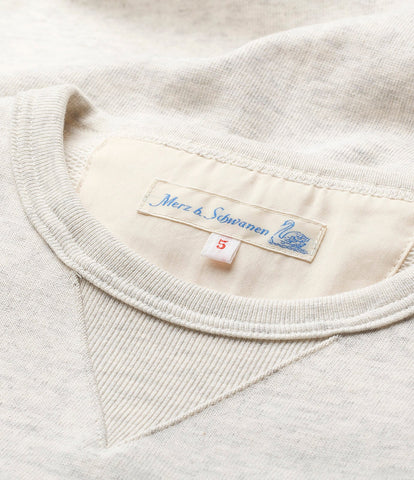 3S48 crew-neck sweatshirt heavy<br/>nature mel.