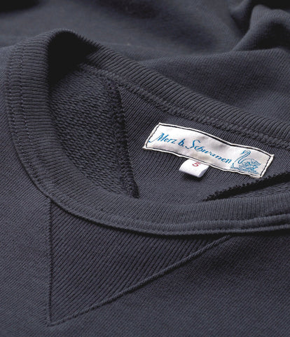 346 crew-neck sweatshirt<br/>navy