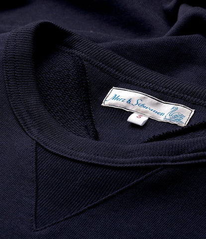 346 crew-neck sweatshirt<br/>dark navy