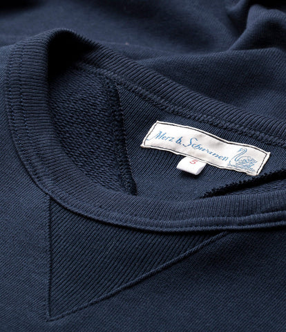 346 crew-neck sweatshirt<br/>ink blue