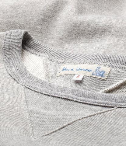 346 crew-neck sweatshirt<br/>grey mel.