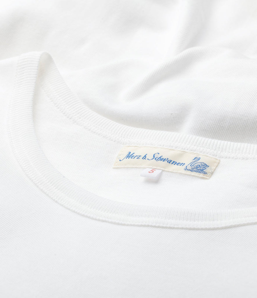 215 classic crew neck T-shirt<br/>white