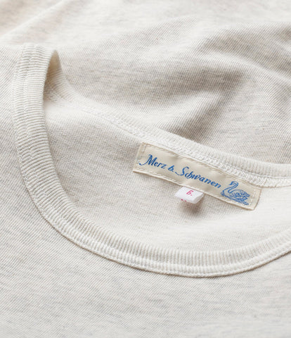 215 classic crew neck T-shirt<br/>nature mel.