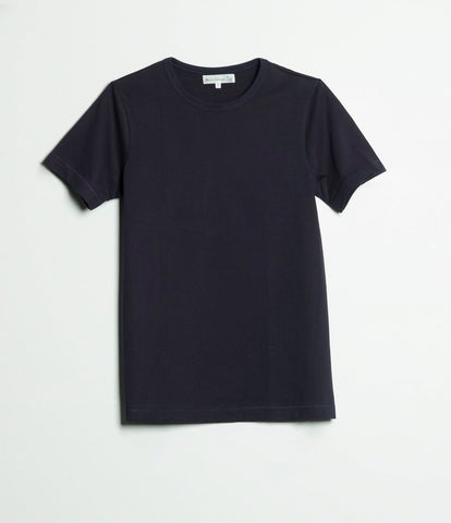 215 classic crew neck T-shirt<br/>dark navy