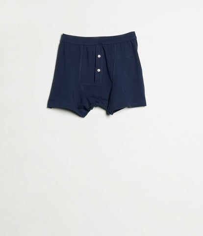 Men's <br/>255 button facing underpants <br/>ink blue